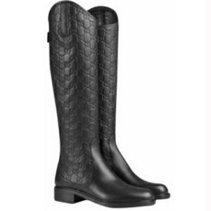 Gucci Maud Guccissima Riding Boot - Authentic